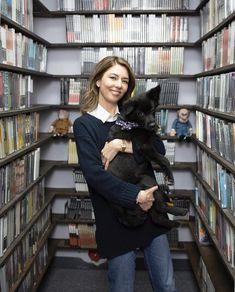 Sofia Copolla visiting The Criterion Collection