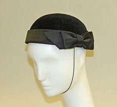 Hat, silk, fur...Yves Saint Laurent, Paris 1978