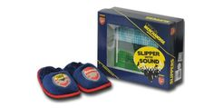 A pair of Gunners slippers with added sound effects when you walk. Glorious.