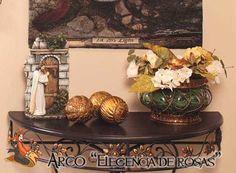 "Arco ""Elegancia de rosas"" consíguelo en  http://www.decoracionesrubios.com/index.php?route=product/product&path=63_78&product_id=472"