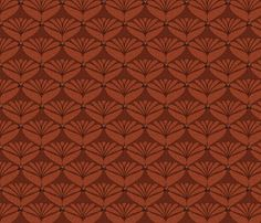 scalloped scales leather fabric by glimmericks on Spoonflower - custom fabric