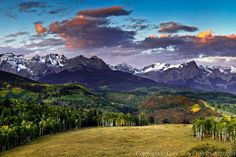 San Juan Mountains near Ridgeway CO. **Area where original True Grit movie filmed State Of Colorado, Colorado Homes, Colorado Rockies, Colorado Mountains, Rocky Mountains, Gunnison Colorado, San Juan Mountains, True Grit, Mountain High