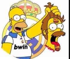 What i am simpsons Real Madrid fan
