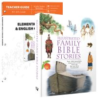 Explore the Bible through beautiful illustrations, maps, historical context, and more as your student develops their writing and grammar skills in this unique elementary grammar course! Elementary Bible & English Grammar guides students through Biblical history, stories, and culture as they examine parts of speech, sentence types, punctuation rules, figures of speech, and study different types of writing!
