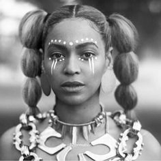 http://buzznigeria.com/nigerian-artist-responsible-body-art-beyounces-lemonade/ Sacred Art of the Ori by Laolu Senbanjo on Beyonce in Lemonade
