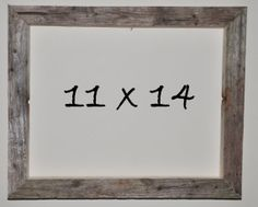11 x 14 Driftwood Picture Frame 216 by DriftwoodMemories on Etsy, $39.95