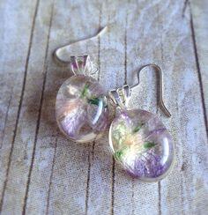 Wildflower earrings on Etsy, $16.00