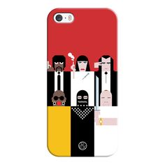 iPhone 6 Plus/6/5/5s/5c Case - Simple Pulp Fiction (825 UAH) ❤ liked on Polyvore featuring accessories, tech accessories, iphone case, iphone cover case and apple iphone cases