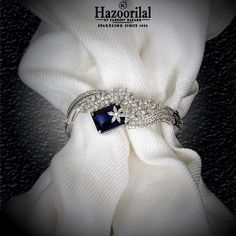 Best Diamond Bracelets : Tanzanite encapsulated by the diamonds make this magnificently exquisite bracelet only from the House of Diamond Bracelets, Ankle Bracelets, Sterling Silver Bracelets, Diamond Jewelry, Silver Bangles, Silver Earrings, Jewelry Bracelets, Cartier Love, Hazoorilal Jewellers