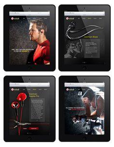Consumer Electronic Brands iPad Design
