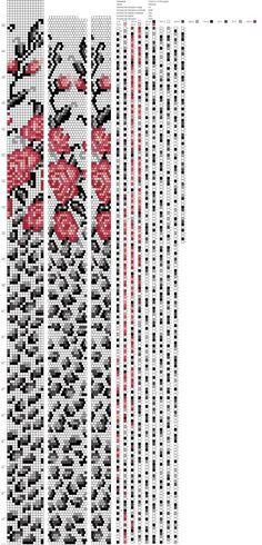 Автор работы [id27868118 Юлия Маслюк]<br>По мотивам схемы Натальи Имаевой<br>#от10@shemazgut <br>#14бисерин@shemazgut <br>#Жгут_и_схема@shemazgut <br>#ДеньРоз@shemazgut