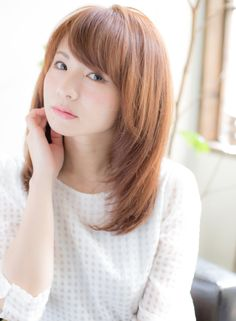 艶髪を叶える◎上品レイヤースタイル♪♪(髪型ミディアム)
