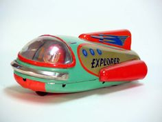 Great Vintage Japanese Tin Space Toys 1950's – 1960's