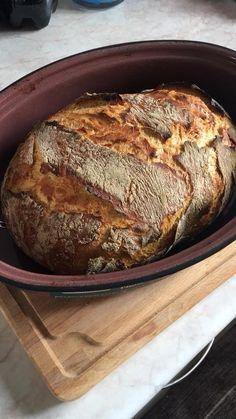 Πώς να φτιάξετε το εύκολο ψωμί χωρίς ζύμωμα, στη γάστρα. | Φτιάξτο μόνος σου - Κατασκευές DIY - Do it yourself