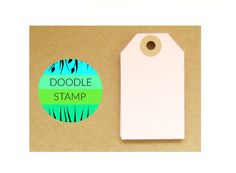 RECTANGLE LUGGAGE TAGS  Pack of 14 Pale Pink 140 by DoodleStamp