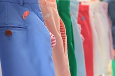 The Blankenship Dry Goods Freedom Shorts at the annual Greenwich Sidewalk Sale