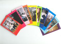 instax raaaainbow | Flickr - Photo Sharing!