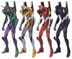 evangelion.  I think Pacific Rim has some explaining to do. LOL