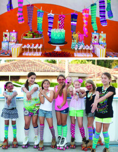 GinaLee's Girls Skate Party