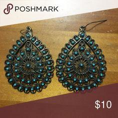 Tear Drop Earrings Great condition! Jewelry Earrings