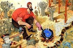 """Disaster"" series of illustrations by John Hendrix"