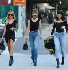 3 models walk into a bar... obsessed with Hailey Baldwin, Gigi Hadid, and Kendall Jenner