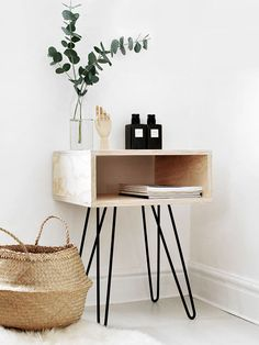 Your bedroom is the perfect place to implement pared-back style. We've rounded up seven simple DIYs using raw wood for some seriously cool bedroom inspiration. 1. DIY Mid Century Nightstand ...