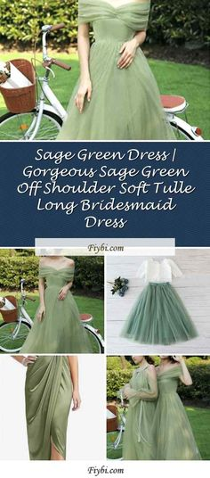 """""""Sage Green Dress, that is the subject of this week... Hello my pretty follower. Our editors have compiled these 4 Sage Green Dress pins from 154+ different ideas for you. While doing this, We paid attention to the fact that there are designs that can be viral in 2020 and many more. Please click on the 'Read More' button to get the rest of the content associated to the Sage Green Dress to... Bridesmaid Dresses, Prom Dresses, Formal Dresses, Sage Green Dress, Tulle, Rest, Content, Button, Ideas"""
