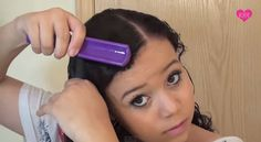 Makeup Tutorials - Straighten Your Hair Without Heat | DIY Tutorial On How To Get Straight Hair Naturally By Makeup Tutorials http://makeuptutorials.com/makeup-tutorials-straighten-your-hair-without-heat/