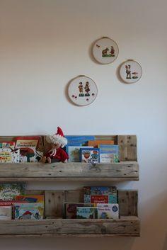 """Im neuen Kinderzimmer hängen nun die umgewandelten """"Baureste"""""""