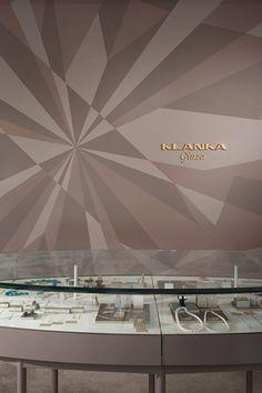実績写真:KLANKA-ginza(ジュエリーショップ)|香取建築デザイン事務所 Deli, Retail, Display, Sweet, Interior, Floor Space, Candy, Billboard, Indoor