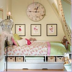 girls room by Candice Olson. Ideas for my girls.
