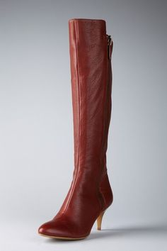 Calvin Klein Jewel Tall Boot in red