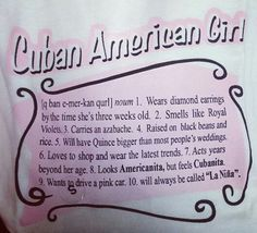 Cuban-American Girl