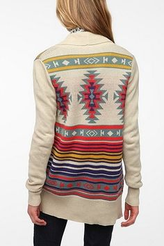 Ecote Intarsia Cardigan - can definitely see me wearing this
