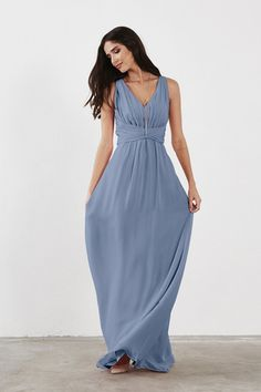 Shop Weddington Way Bridesmaid Dress - Scarlett in Poly Chiffon at Weddington Way. Find the perfect made-to-order bridesmaid dresses for your bridal party in your favorite color, style and fabric at Weddington Way.
