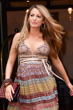 Blake Lively Proves Why Bombshell Hair and a Baby Bump Are the Perfect Match