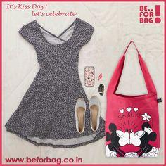 Kiss Day# Valentine week#www.beforbag.co.in#