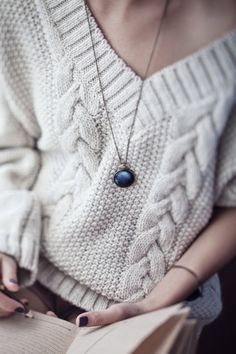 Nails + necklace