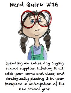 done this...many times. Even as a teacher now, back to school shopping makes me so excited!