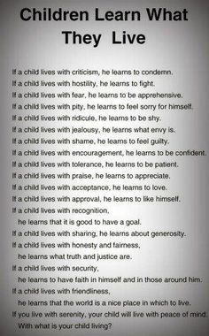 Very true. How are YOU raising your children? I know WAY too many parents that name call or speak sarcastically to kids all the time and think it's cute. What are you teaching your children? Kids And Parenting, Parenting Hacks, Gentle Parenting, Bad Parenting Quotes, Parenting Humor, Mindful Parenting, Peaceful Parenting, Parenting Articles, Parenting Plan