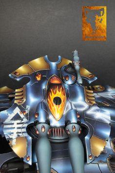 Commission: Scorpion Type II Heavy Grav Tank, Sons of Azurman