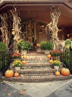 90 fall porch decorating ideas - Shelterness
