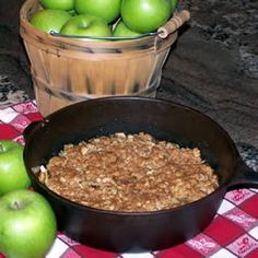 Maple Apple Crisp Recipe