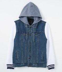 Shirt Jacket, Sweater Hoodie, Uniqlo Outfit, Denim Blazer, Formal Shirts, Sweatshirts, Hoodies, Winter Fashion, Mens Fashion