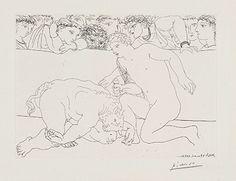 Picasso's Vollard Suite: Men, Women and Minotaurs