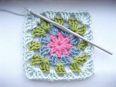 Download summer garden granny square pattern - Allcrochetpatterns.net