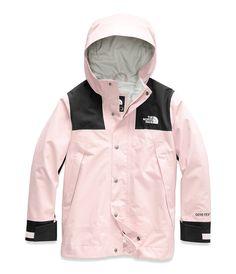The North Face Jacket - The North Face 1990 Mountain Thermoball Jacket Girls Winter Jackets, Jackets For Women, North Face Kids, The North Face, North Face Outfits, Calvin Klein, Vinyl Raincoat, North Face Rain Jacket, Raincoat Jacket