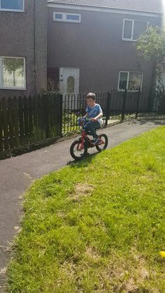 How to get your kid to learn to ride their bike  Hooray! I had to share this post with the world! He has tried, and given up, for two years learning to ride his bike. He suffers with his confidence and as soon as he fails he gives up. Not today! Today he got on his bike and stuck with it! I am so proud…