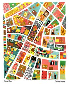 Antoine Corbineau - Map of Chueca area of Madrid #arquitecturadeinformación #ai…